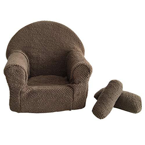 Hanshin Sofá para bebé, silla posing, asiento para fotografía, accesorio para fotografía...