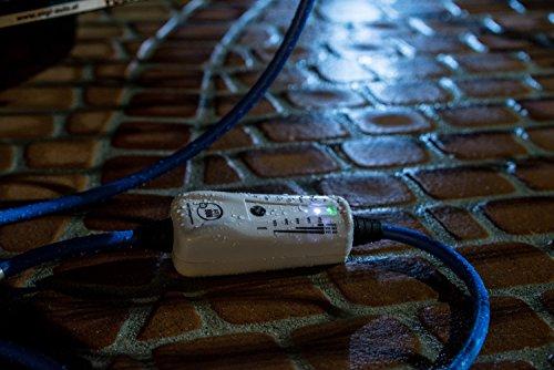11KW, Typ 2 - LIGHT mobiles Ladestation für Elektroauto, Ladeneinheit 16A, Notladekabel mit integrierter Wallbox, 3-Phasenladung Proteus-NRGkick 16A – FI Schutzmechanismus Typ B Charakteristik - 4