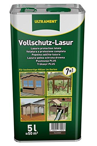 Ultrament Vollschutz-Lasur 7-in-1, palisander, 5l
