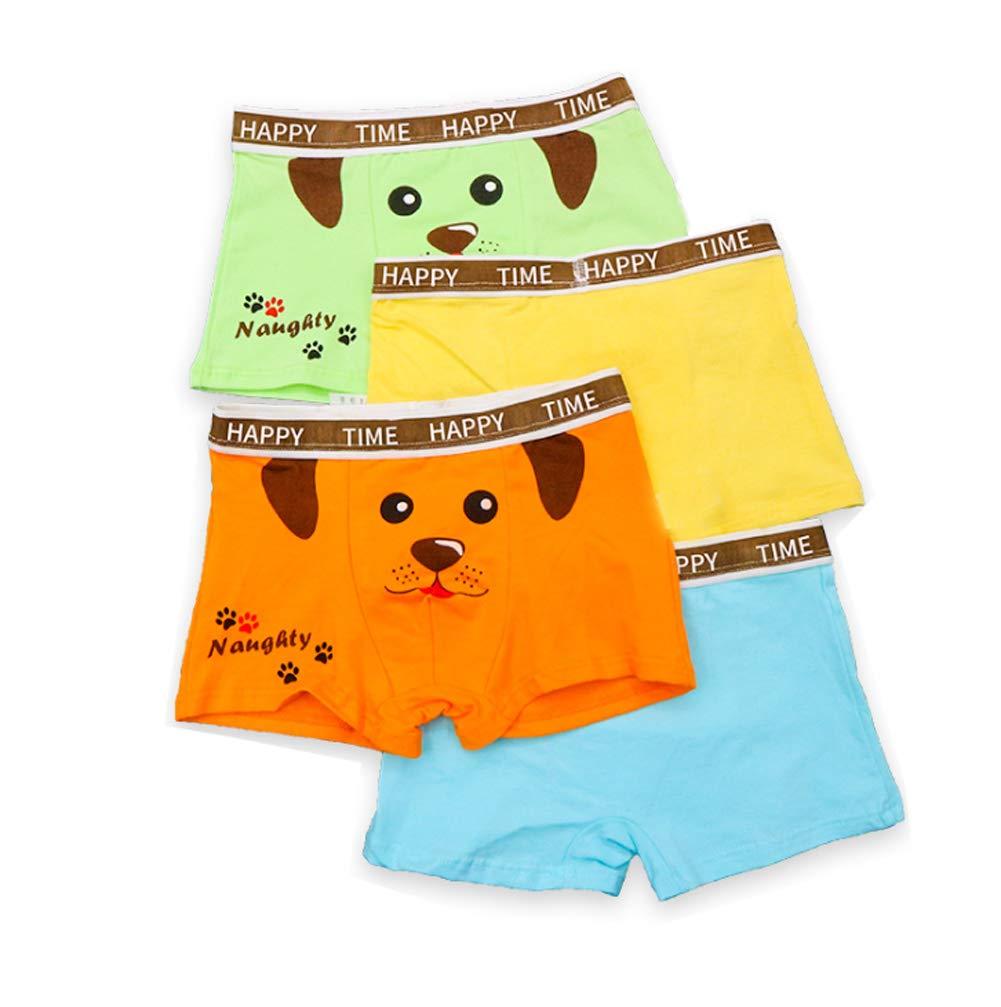 Boys Shorty Boxer Briefs Animal Trunks Underwear Age 2-10 Kids