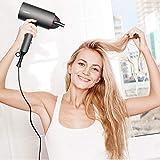 Föhn Sumgott Ionen Fön 1800W Haartrockner, Faltbarer Haarfön Tragbarer Hair Dryer Reiseföhn mit Ionenpflege Technologie,Drei Temperatur und Windgeschwindigkeiten - 8