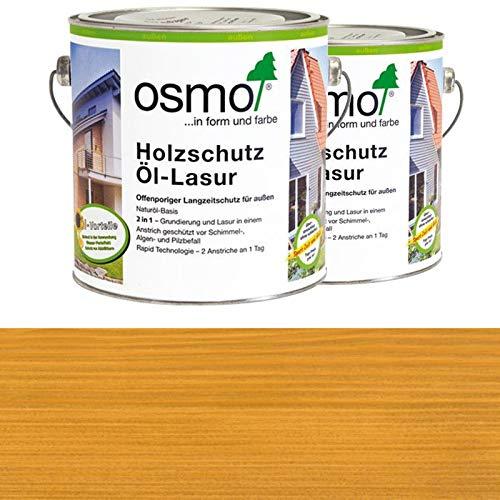 OSMO Holzschutz Öl-Lasur 2,5 Liter Kiefer 700