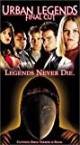 Urban Legends - Final Cut [VHS]