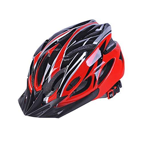 Athyior Fahrradhelm Herren Damen Radhelm Einstellbar Stirnband Bike Helmet für Straße Berg Fahrrad Roller Skateboard Fahrrad 52-61cm Erwachsene Teenager