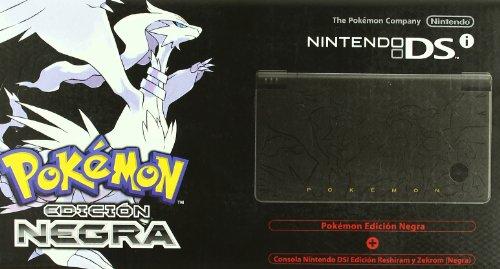 Consola Dsi Pokémon (Negra) Con Pokémon
