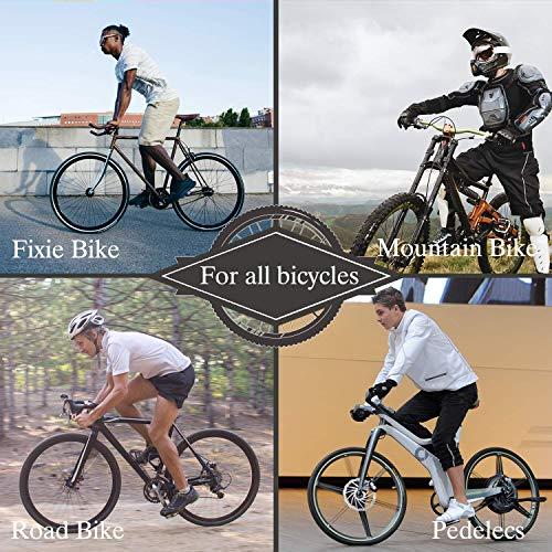 Sportout Kupferlegierung Fahrradklingel, Klassische Fahrradklingel, Lautstarker Fahrradring für Rennrad, Mountainbike, Citybike, Sportbike, Kinderfahrrad, Cruiser Bike, BMX Bike - 6