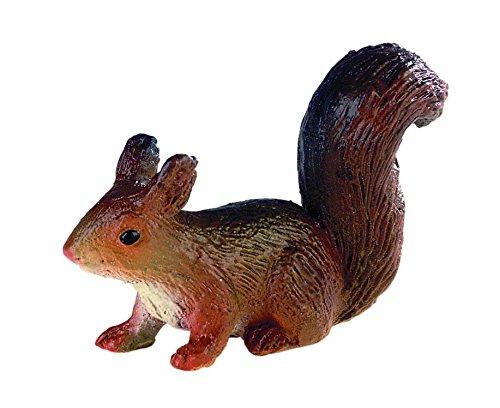 Bullyland 64423 - Spielfigur, Eichhörnchen, ca. 5,5 cm groß, liebevoll handbemalte Figur, PVC-frei, tolles Geschenk für Jungen und Mädchen zum fantasievollen Spielen