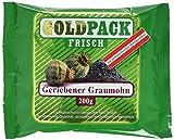 Goldpack Frisch geriebener Graumohn, 10er Pack (10 x 200 g)