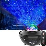 LED Proyector de Luz Estrellas Galaxia,OxyLEDLampara Proyector Estrellas con Control Remoto&Temporizador&Bluetooth,Luz...