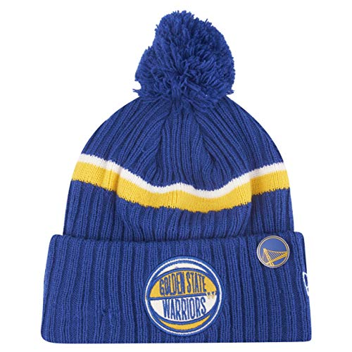 New Era NBA DRAFT 2019 Bobble Beanie Golden State Warriors