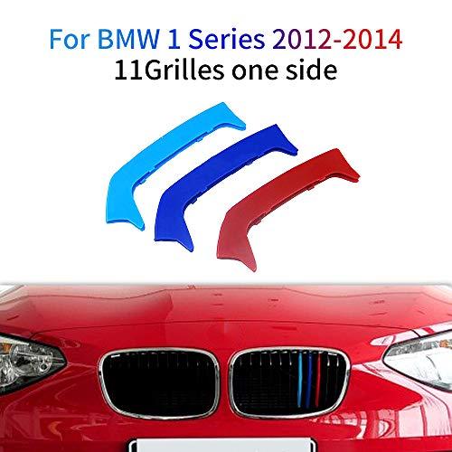 M-Colore Franjas Decorativas para Parrilla Delantera para 1 Series 116i 118i 120i 2012-2014 3 Piezas (11 Varillas)