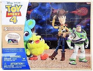 Disney Toy Story 4-5pk Wood Puzzle