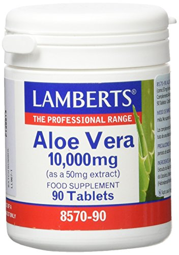 Lamberts Aloe Vera 10000mg - 90 Tabletas