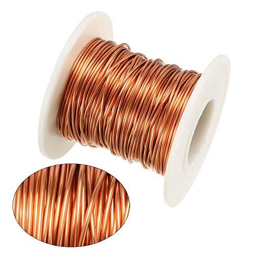 Ztengyu-Cable metálico Alambre de cobre magnético, 0,8 mm / 1.0 mm /...