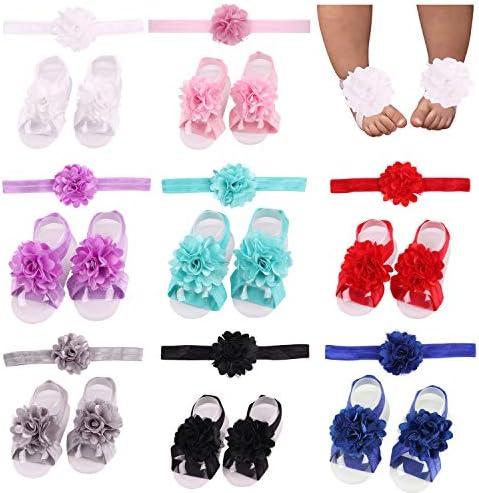 Pies descalzos para bebes