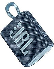 Jbl JBLGO3BLU Małe Pudełko Bluetooth, Niebieski, 8.7 x 7.5 x 4.1 cm