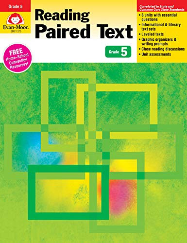 『Reading Paired Text, Grade 5』のトップ画像