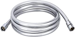 HOMEIDEAS 98-Inch Extra Long Shower Hose Replacement Handheld Shower Head Hose Extension, Non-Toxic PVC