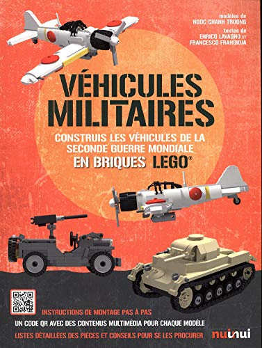 Véhicules militaires en briques LEGO de la Seconde Guerre mondiale