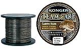 Konger Angelschnur STEELON CARP Camou Autumn 1500m 0,25-0,35mm Karpfenschnur -