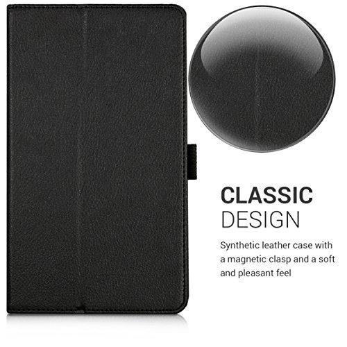 kwmobile Hülle kompatibel mit Huawei MediaPad M3 8.4 - Slim Tablet Cover Case Schutzhülle mit Ständer Schwarz - 2