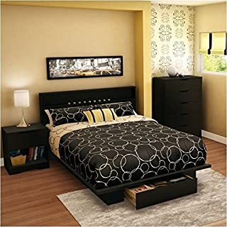 Amazon.com: Black - Bedroom Sets / Bedroom Furniture: Home & Kitchen