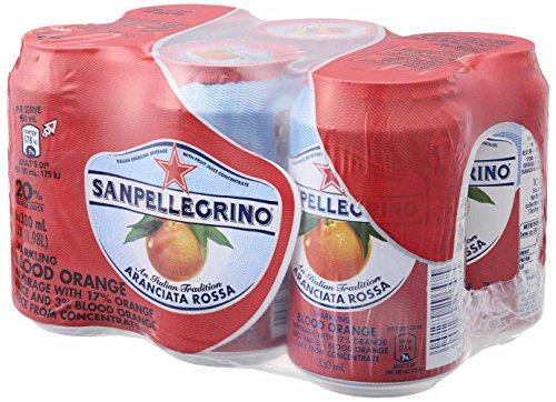 Sanpellegrino(サンペレグリノ) スパークリングフルーツベバレッジ アランチャータ・ロッサ(ブラッドオレン...