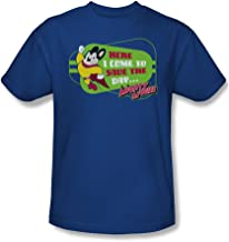 Here I Come to Save The Day. - Mighty Mouse Adult T-Shirt