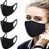 Yueyue 947 Sac de 3 respirateurs Contre la poussière, Masque de Pollution 3D réutilisable et...