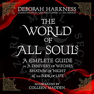 The World of All Souls                   By:                                                                                                                                 Deborah Harkness                               Narrated by:                                                                                                                                 Saskia Maarleveld,                                                                                        Deborah Harkness,                                                                                        Steve West,                   and others                 Length: 15 hrs and 5 mins     5 ratings     Overall 4.8