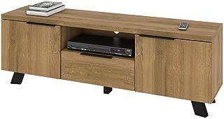 Bestar 103161-000005 Auva TV Stand, Maple Brown