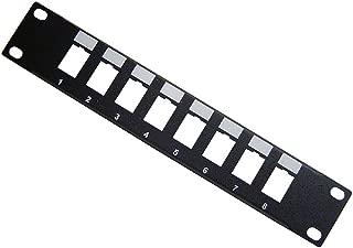 TENRack RackMatic 配线架 10 英寸 8 端口 1U (110/Krone)
