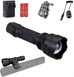 940nm IR Illuminator LED Flashlight Infrared Light for Night Vision Scope, Adjustable Focus, Zoomable,Waterproof Flashligh...
