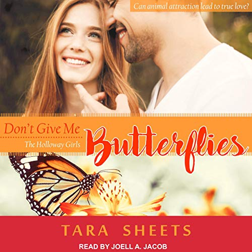 Don't Give Me Butterflies audiobook cover art