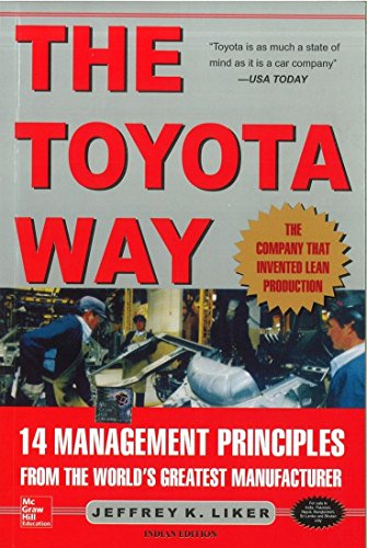 The Toyota Way: 14 Management Principles from the World's Greatest Manufacturer [Import] by LIKER (2004-08-01)