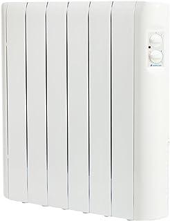 Haverland RC6A - Emisor Térmico Analógico Fluido Bajo Consumo, 750 de Potencia, 6 Elementos, Piloto Luminoso, Mandos De Fácil Acceso