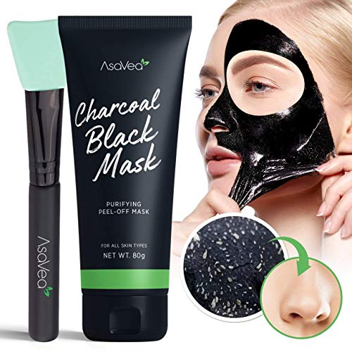 Black Peel off Mask,Charcoal Blackhead Remover Mask 80 gram- Deep Cleansing Mask, Deep Pore...