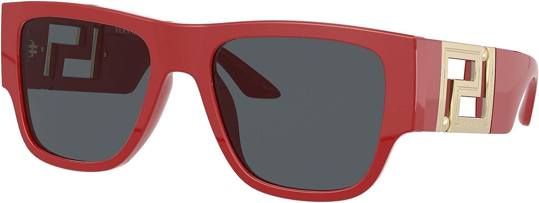Versace VE4403 Sunglasses - (534487) Red/Dark Gray - 57mm