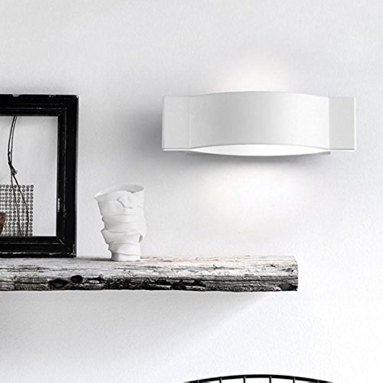 Wandleuchte Wandmontiert Führte Gang, Wohnzimmer Wand Lampen Moderne Persnlichkeit Schlafzimmer Nachttischlampe Treppen Gang (Farbe   Wei)