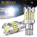 BORDAN T15/T16/W16W LED 爆光バックランプキャンセラー内蔵 1400ルーメン 後退灯 バックライト 超高輝度 無極性 長寿命 34連 12V ホワイト 1年保証 2個入