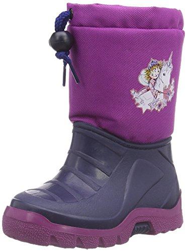 Prinzessin Lillifee Mädchen 120120 Schneestiefel, Violett (pflaume), 32/33 EU