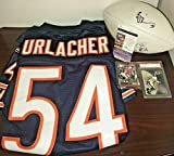 Lot of 5 Brian Urlacher Signed Football Rookie Card Authentic Jersey Bobble JSA - Football Slabbed Autographed Rookie Cards. rookie card picture