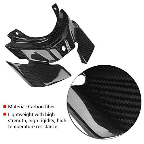 Keenso Accessoires Moto Fibre de Carbone Protection Feu arrière pour Yamaha MT-10/FZ-10 2016-2018