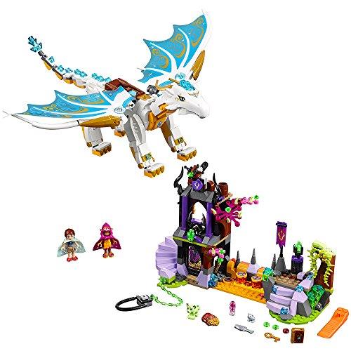 LEGO Elves Queen Dragon's Rescue 41179 Creative Play Toy for...