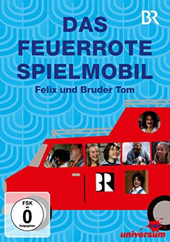 Das feuerrote Spielmobil - Felix und Bruder Tom (3 DVDs)