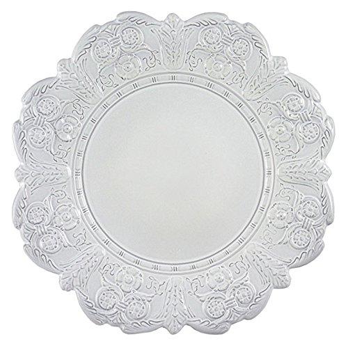 Faïencerie de Niderviller Grand Siècle Assiette plate Blanc 28 cm