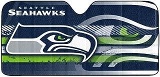 Seattle Seahawks Auto Sun Shade - 59''x27''