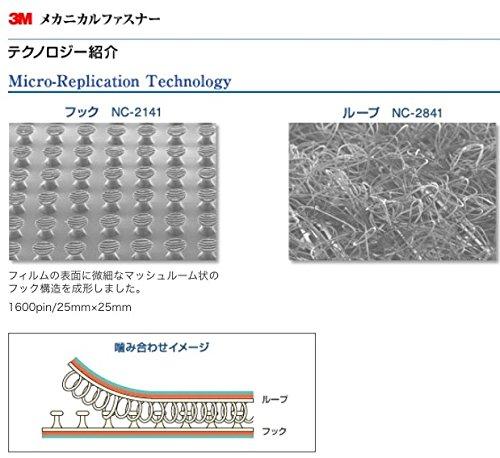 スリーエムジャパン(3M)『メカニカルファスナー(NC-2141,NC-2841)』