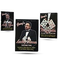 【並行輸入品】Lucky 7's with Gerry Griffin, 3 DVD Set - Great Card Magic Tricks マジック メーカー