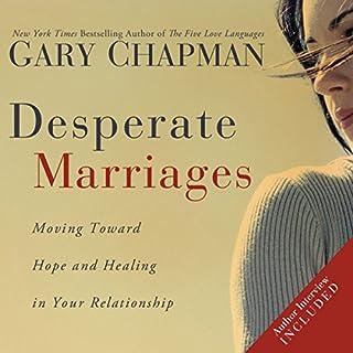 Desperate Marriages audiobook cover art